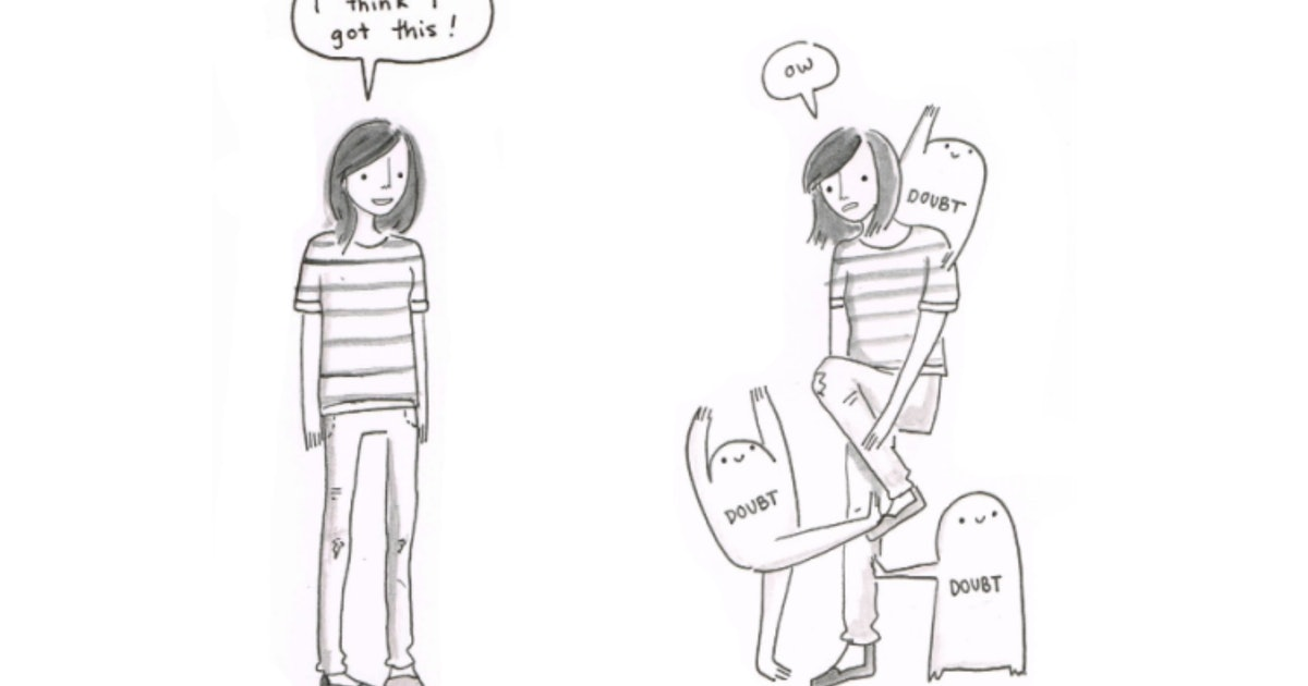 Artist Beth Evans' Comics Perfectly Describe Anxiety And
