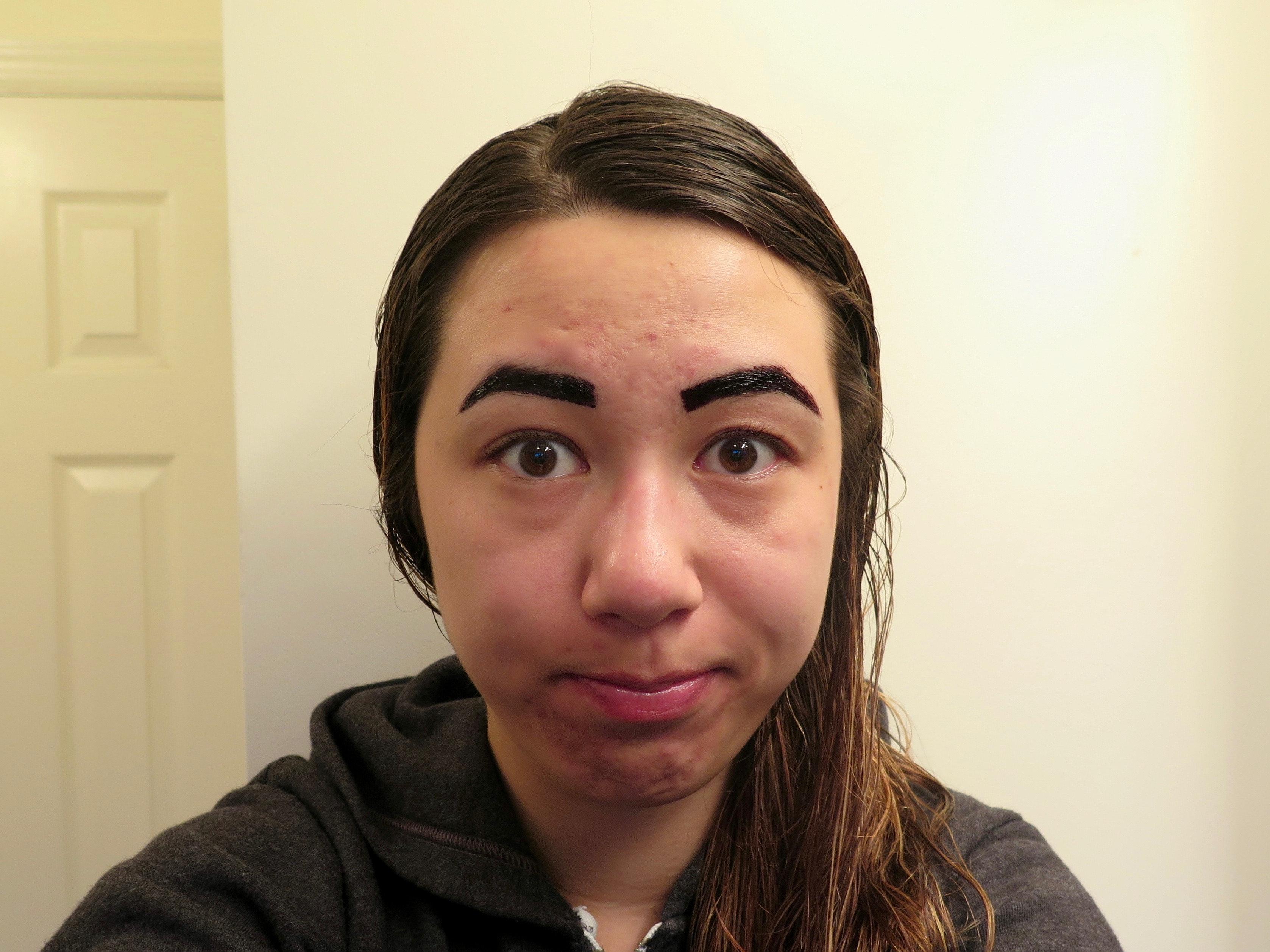 Asian grow eyebrow hair