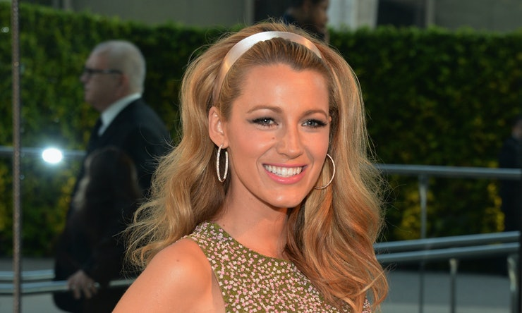 Blake lively says her hair is a safety net and shes certainly blake lively says her hair is a safety net and shes certainly not the only one pmusecretfo Gallery
