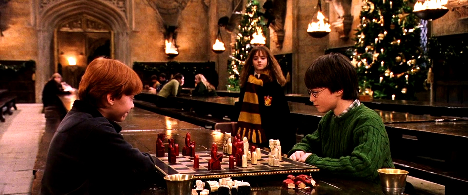 Image result for harry potter christmas
