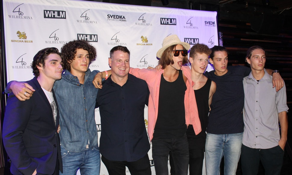 10 male models at new york fashion week men 39 s confess the for Modeling jobs nyc