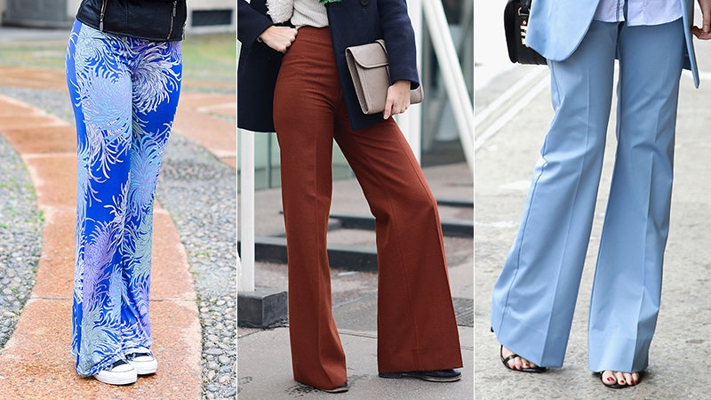 7 Shoes To Wear With Bell Bottoms, Because The '70s Are Trending ...