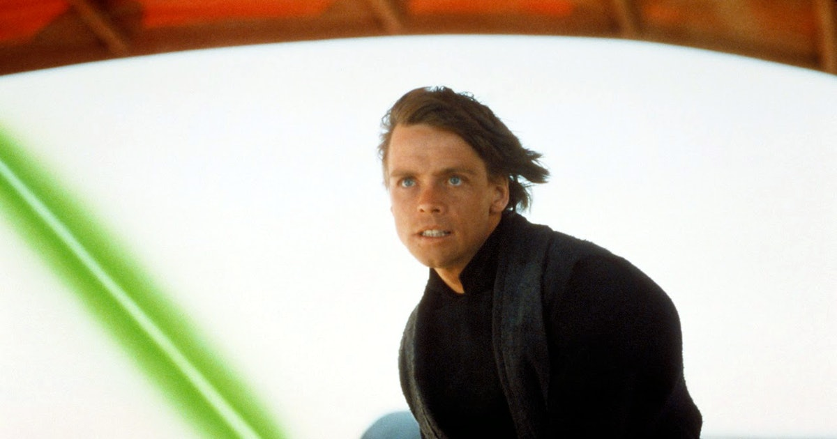 luke skywalker as a jedi in the star wars movies