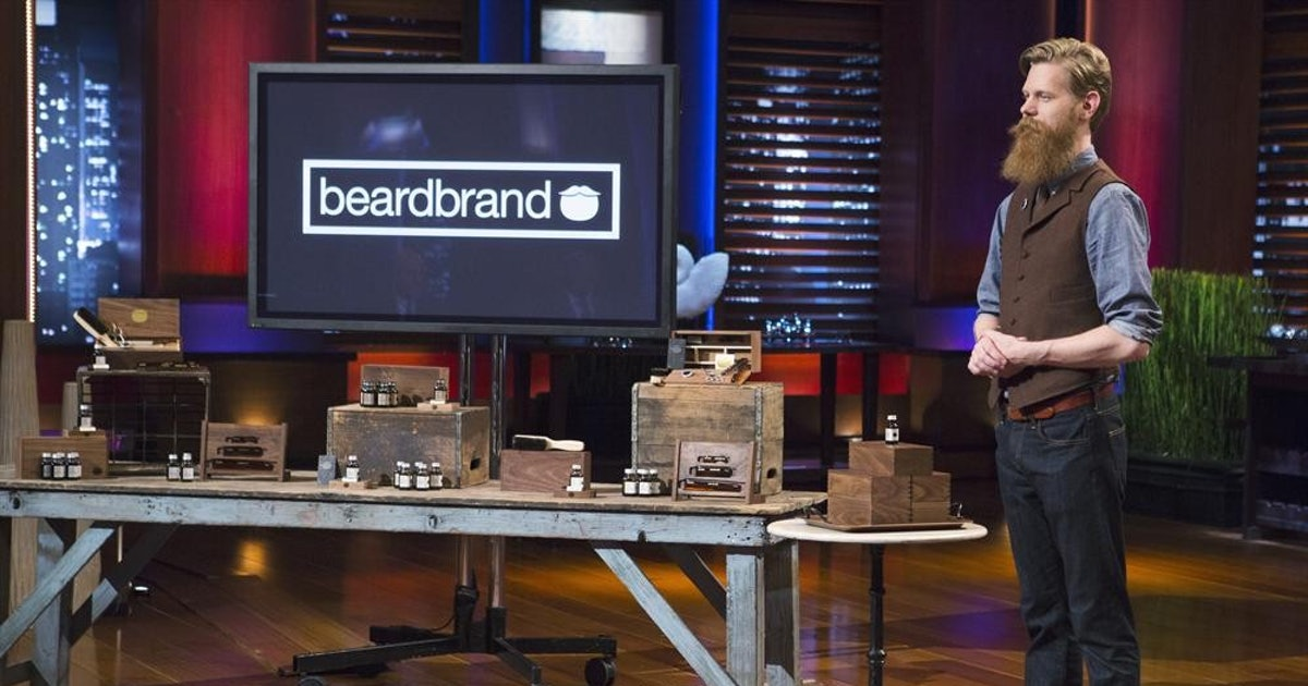 39 shark tank 39 s beardbrand products are available now for everything from simple 39 staches to. Black Bedroom Furniture Sets. Home Design Ideas