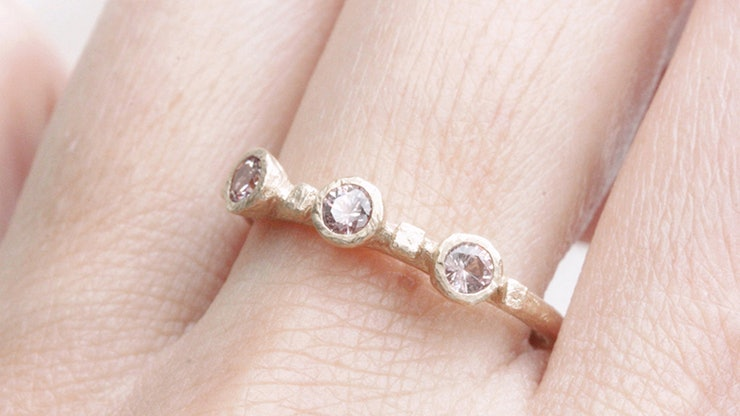 9 Engagement Rings Without Diamonds That Will Still Last Forever