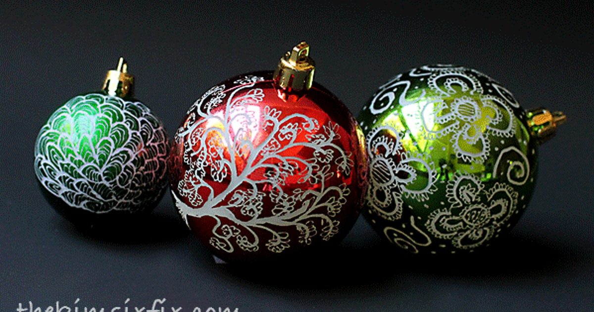 7 diy christmas decorations to get started on now yes for Yes decoration