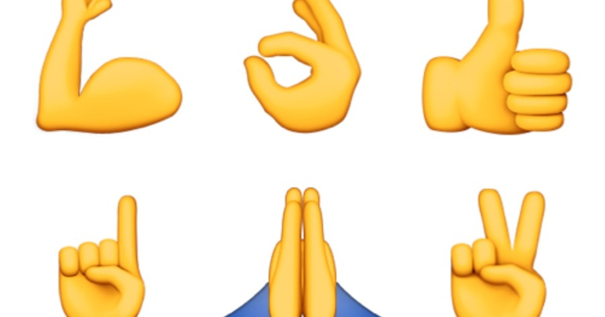 What Do All The Hand Emojis Mean? Or, How To Know When To Use Prayer Hands vs. Applause