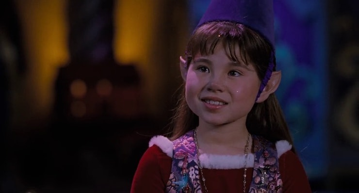 where is judy the elf from the santa clause now paige
