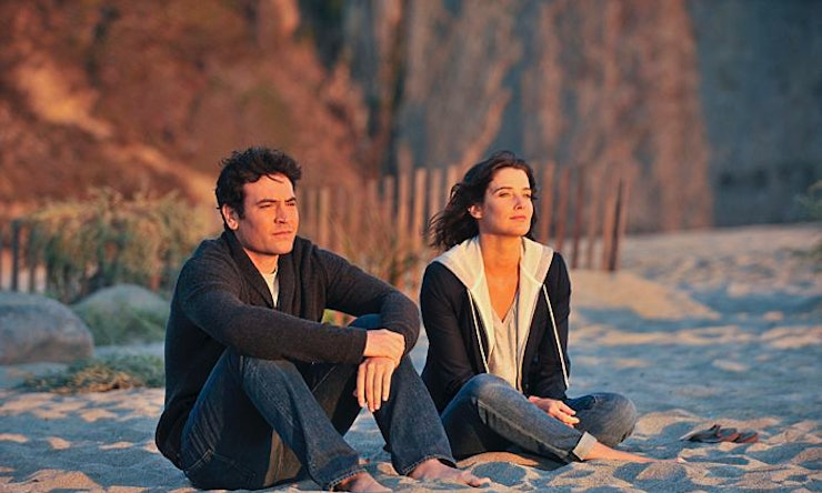 How I Met Your Mother Recap Ted Finally Lets Robin Go We Hope Over A Farhampton Sunrise