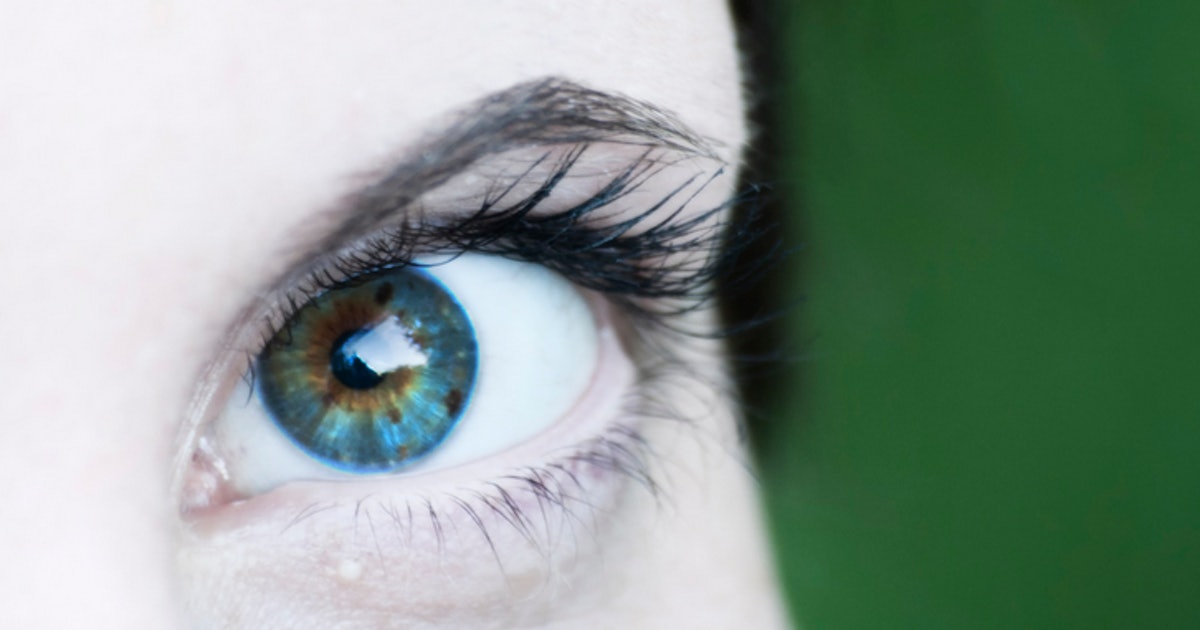 Cum in your eye