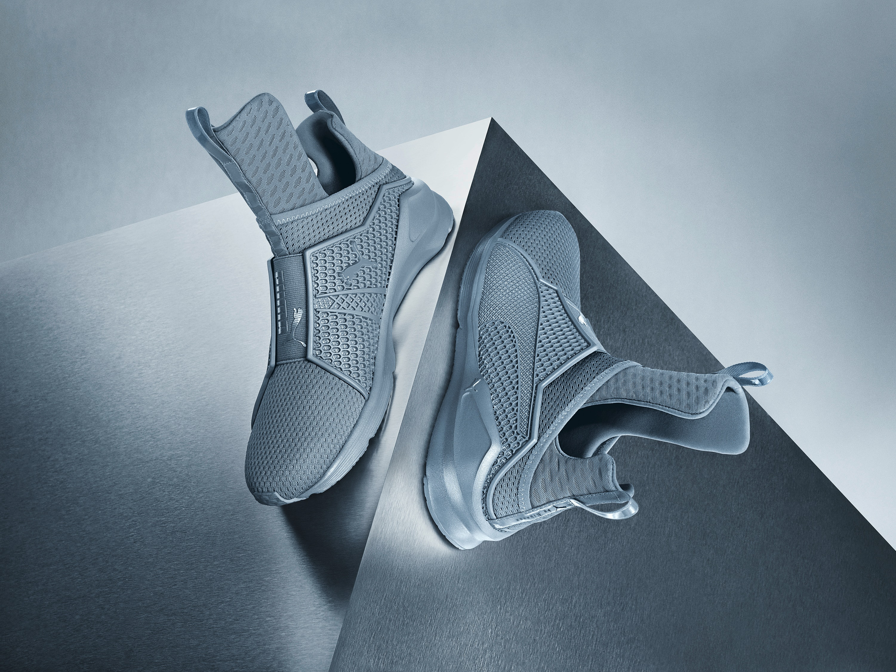 puma fenty trainer grey