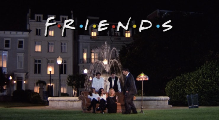 The Fountain In Friends Opening Credits Scene Has Been
