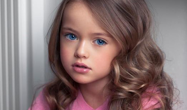 Kristina Pimenova Is Named The Most Beautiful Girl In The World And She 39 S Only Eight