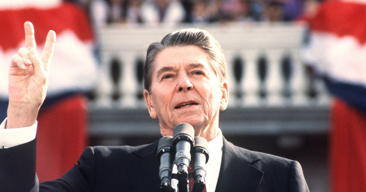 the flaws of the economic policy of ronald reagan