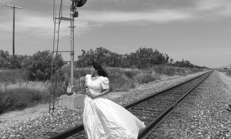 39 acid neutral 39 photo series by clara herrera gives new for What to do with old wedding dress after divorce