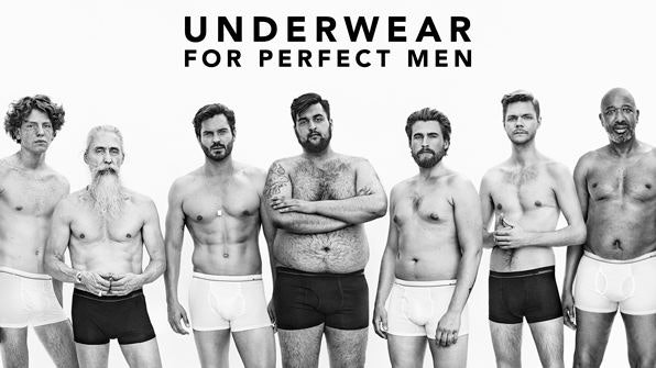 Dressmann's Underwear For Perfect Men Ad Brings Body Positivity To ...