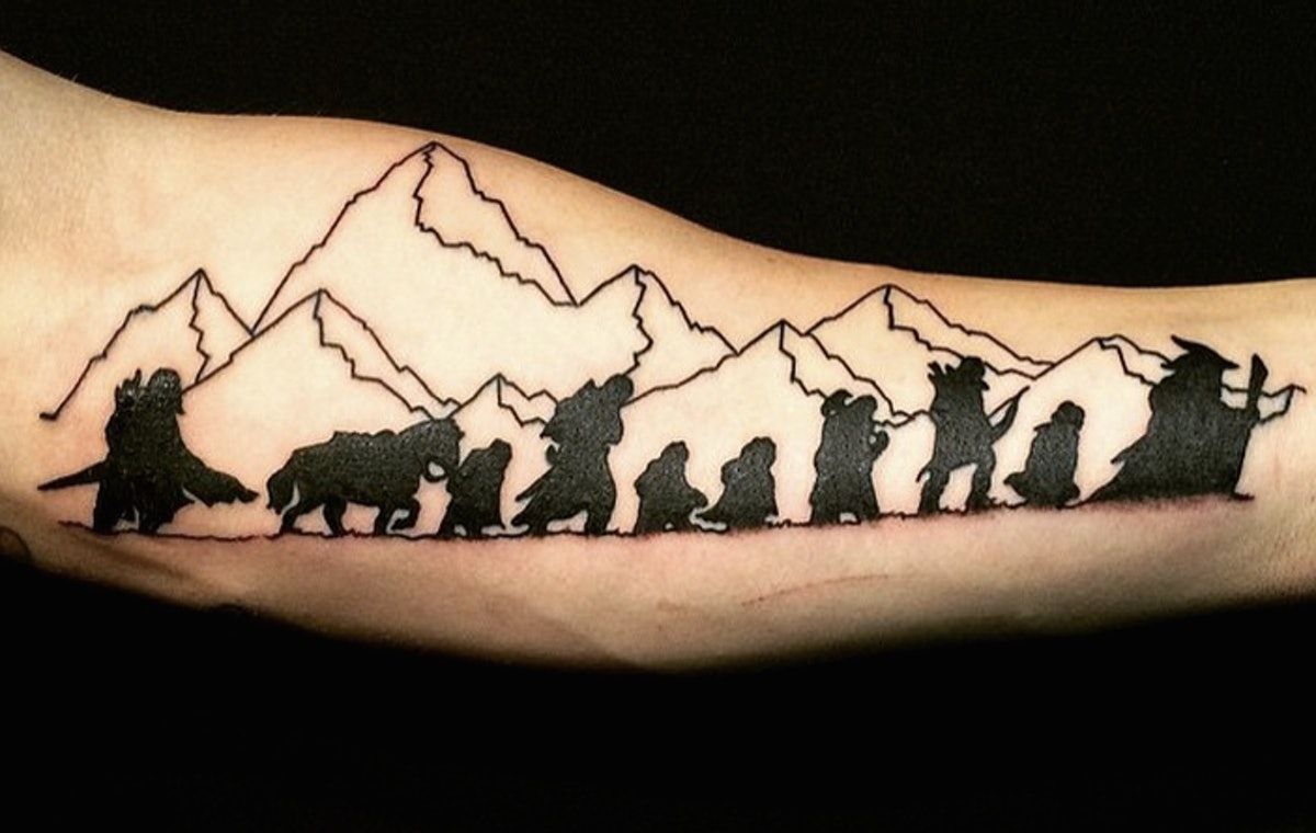 9 Timeless 'Lord Of The Rings' Tattoos So Your Love For