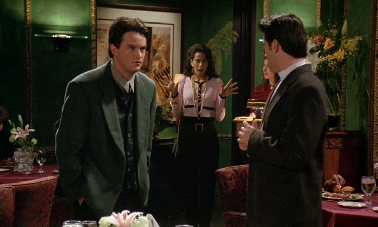 14 moments from the 39 friends 39 valentine 39 s day episode that prove it stands the test of time. Black Bedroom Furniture Sets. Home Design Ideas