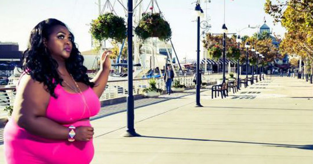48 Plus Size Women Rocking Their Visible Belly Outlines In Flawless Fashion  Photos-2389