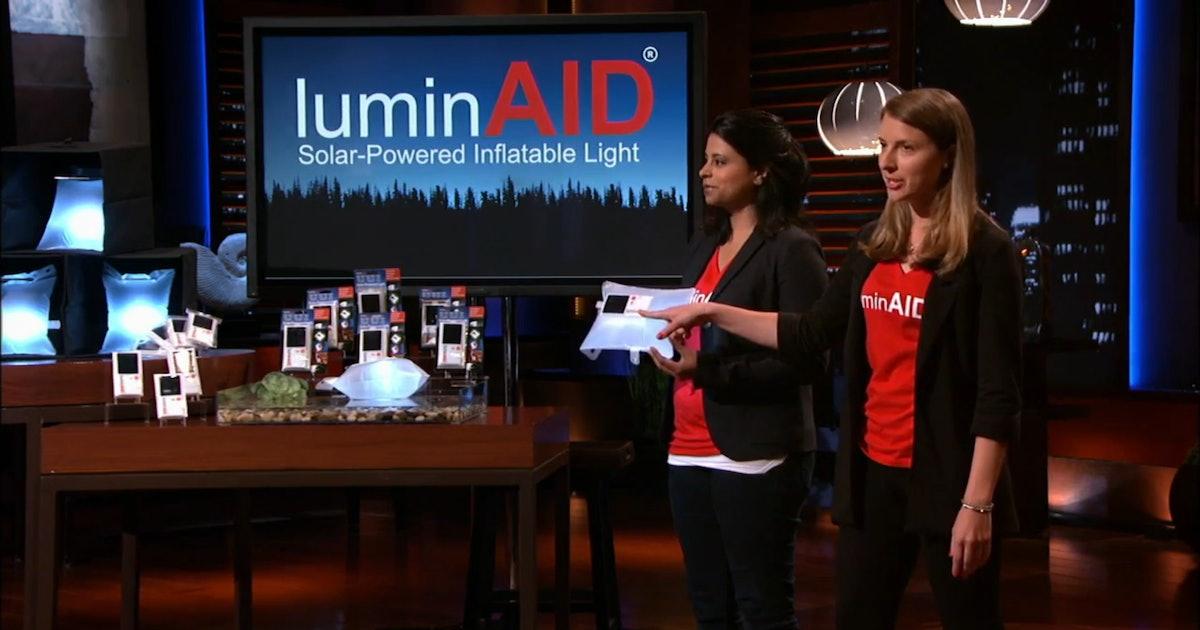 Where To Buy Shark Tank S Luminaid Solar Light Because