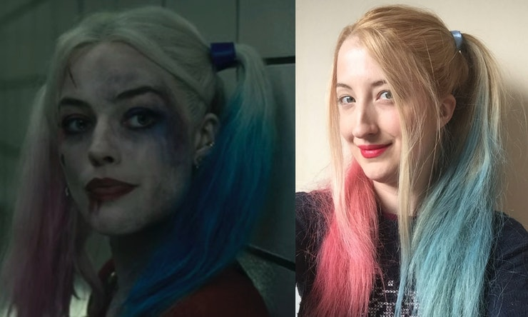 DIY Harley Quinn 'Suicide Squad' Hair In 7 Simple Steps For Looks That Could Kill