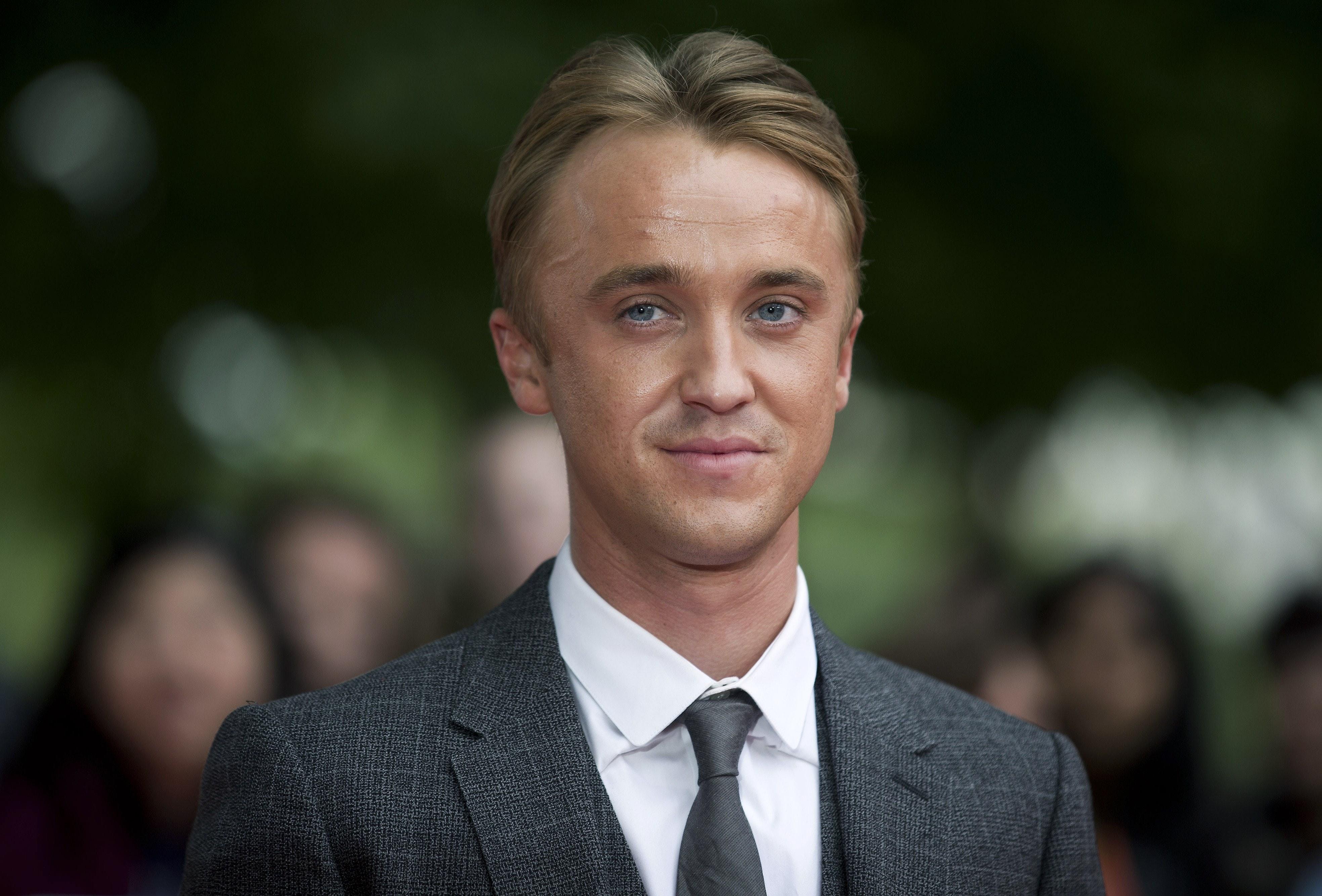 Tom Felton Young Harry Potter