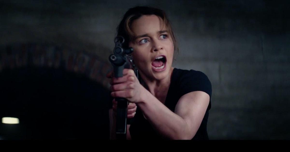 39 terminator genisys 39 emilia clarke talks tackling sarah - Sarah connor genisys actress ...