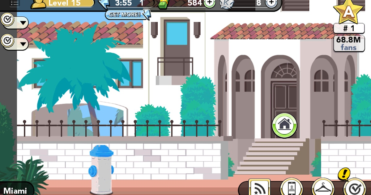 is buying a house in kim kardashian 39 s iphone game worth it only if you have a lot of money. Black Bedroom Furniture Sets. Home Design Ideas