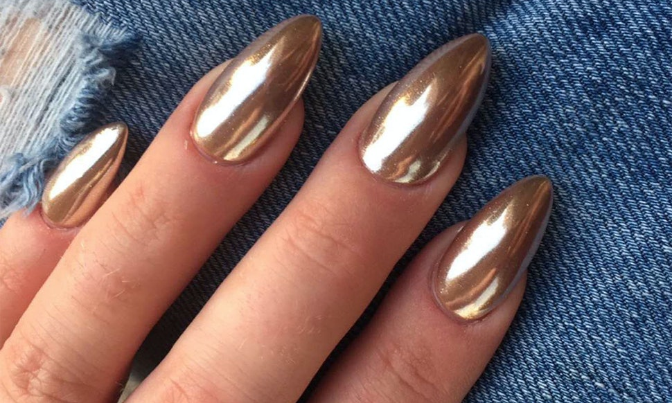 How To Get Chrome Nails So You Can Have The Most Ba Manicure Ever Videos