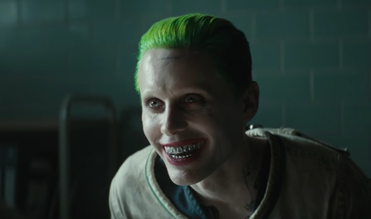 Jared leto 39 s joker tattoos could spell out his real for Suicide squad face tattoo