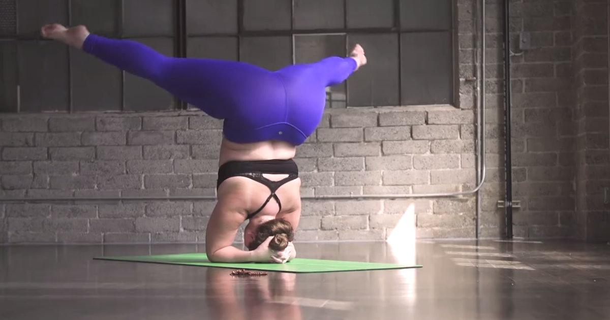 Yoga Teacher Dana Falsetti S Video Challenges The Typical