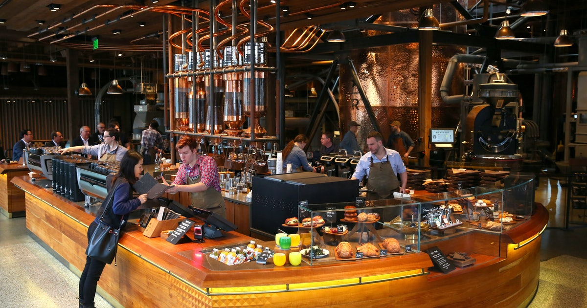 A starbucks roastery is opening in new york city in 2018 for New anthropologie stores opening 2016
