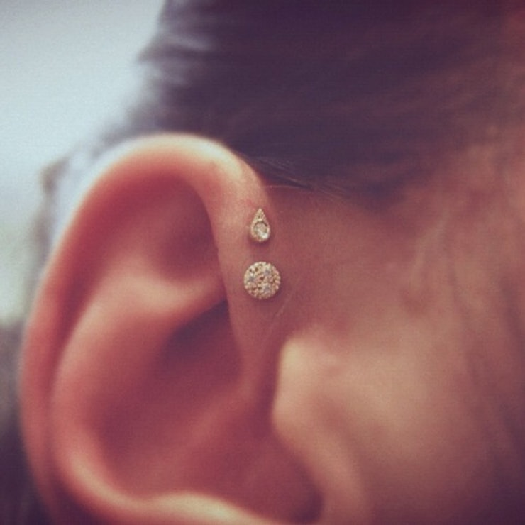 Cool Ear Piercings For Girls Ideas
