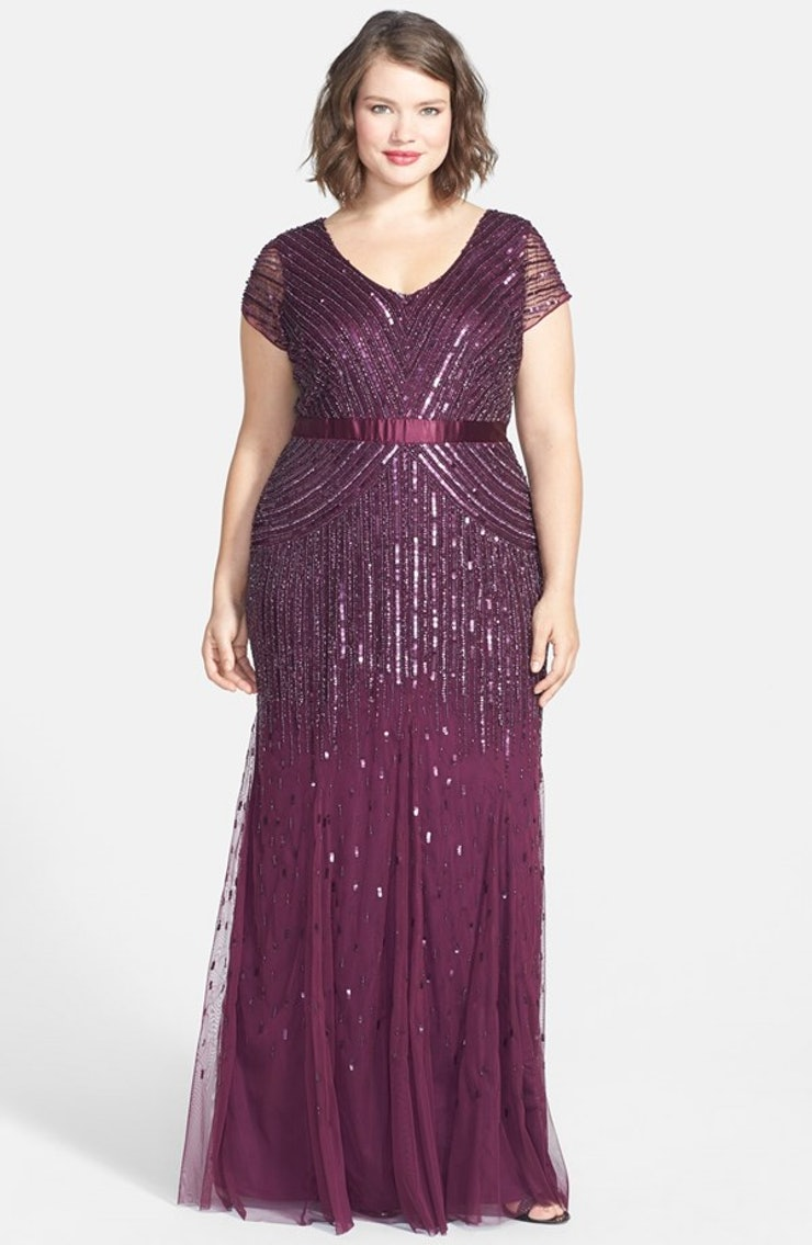 33 plus size wedding guest dresses for curvy ladies for Bloomingdales dresses for wedding guests