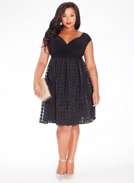 Fall wedding guest dresses plus size dress ideas for Plus size guest of wedding dresses