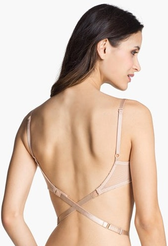 For Off-the-Shoulder Necklines. Off-the-shoulder tops and dresses aren't going anywhere, so keep that strapless bra handy all season. Try an underwire style with good support.