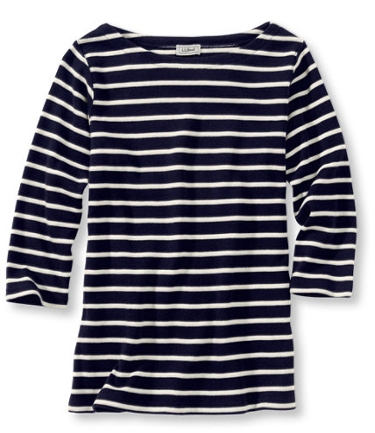 29 clothing basics for fall 2015 because normcore lives on for Striped french sailor shirt