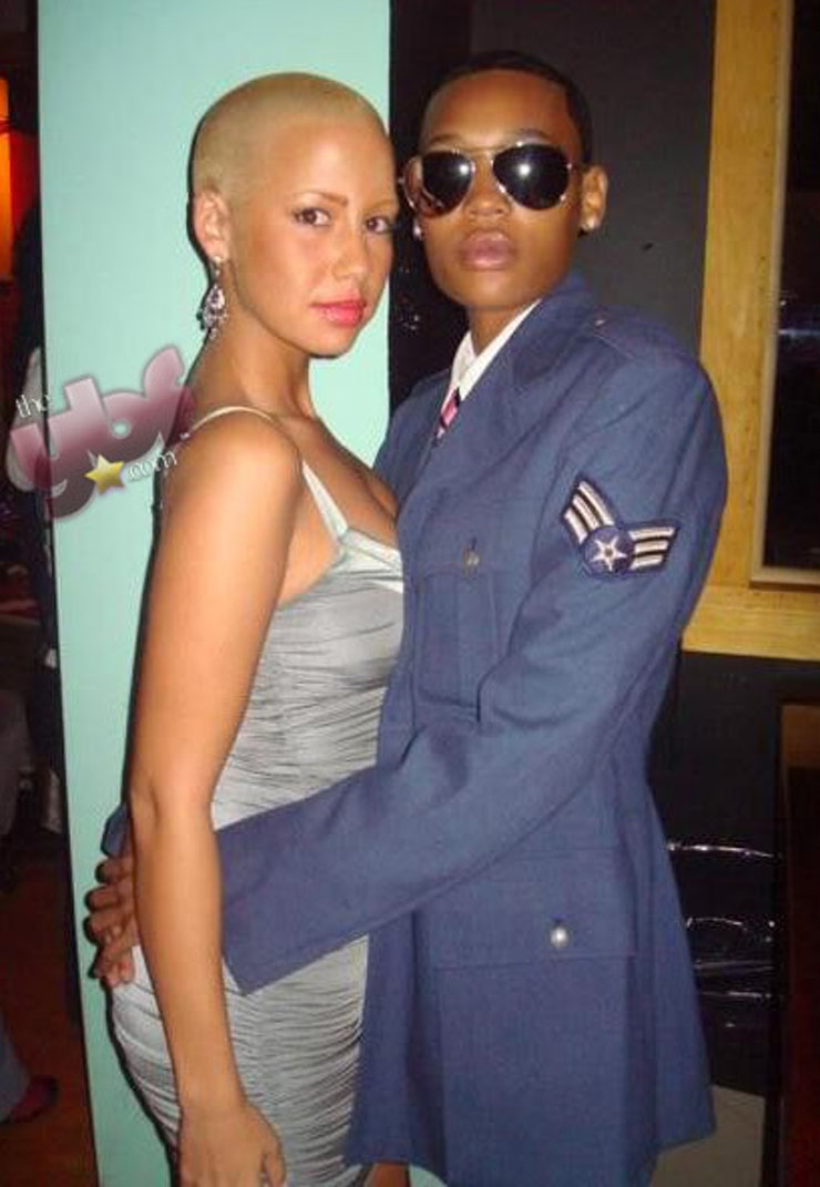 Amber rose who is she dating