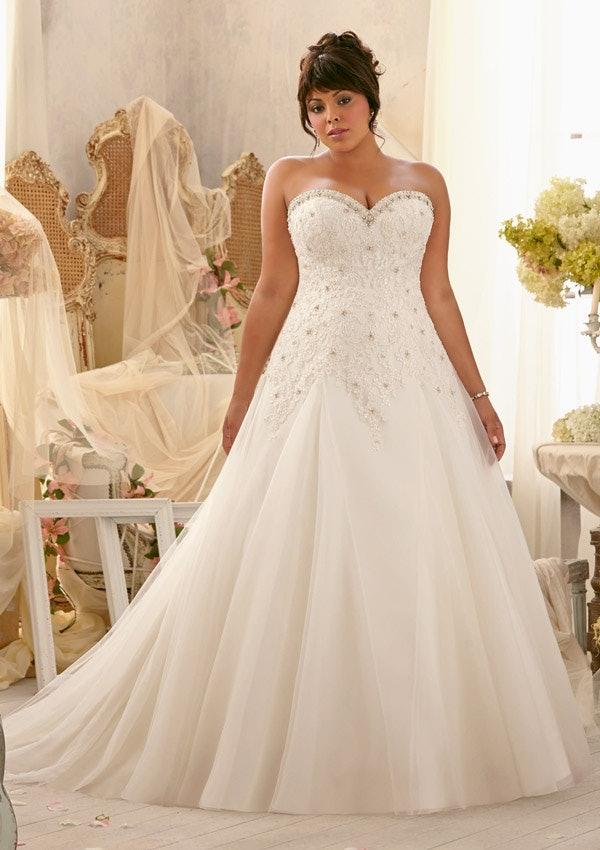 Wedding dresses for plus size bridal dresses