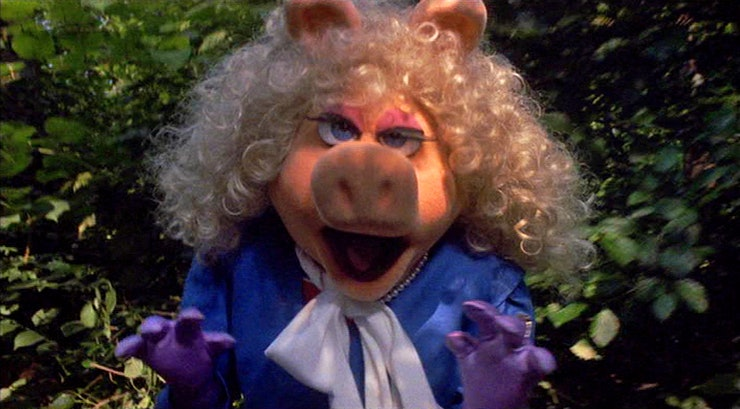 Miss piggy angry