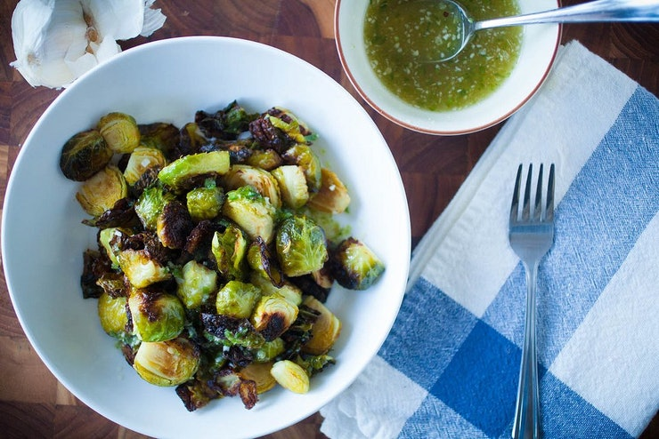 Thai-Style Brussels Sprouts