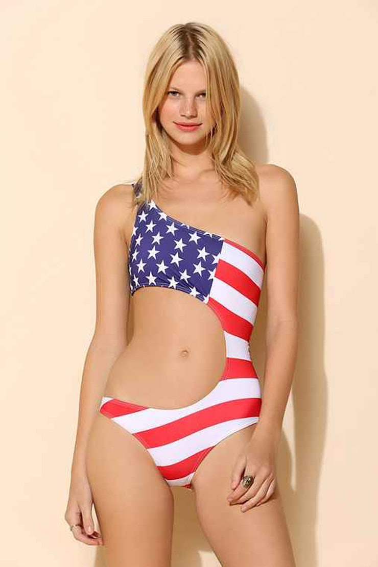 Stars Stripes Patriotic USA Flag Bikinis. UjENA Stars & Stripes, Patriotic and USA Flag Bikinis.