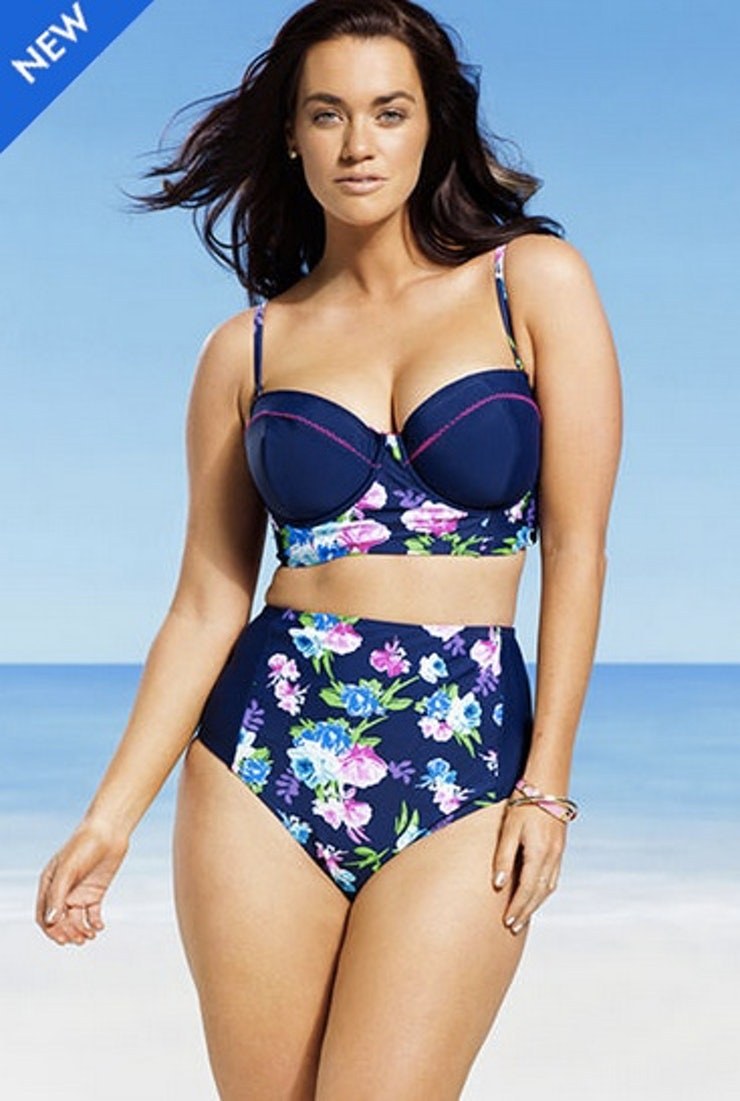Our extensive selection of plus size swimwear with underwire, helps to keep you comfortable and in control. Our swimwear is designed to be stylish, while delivering discreet support where you need it .