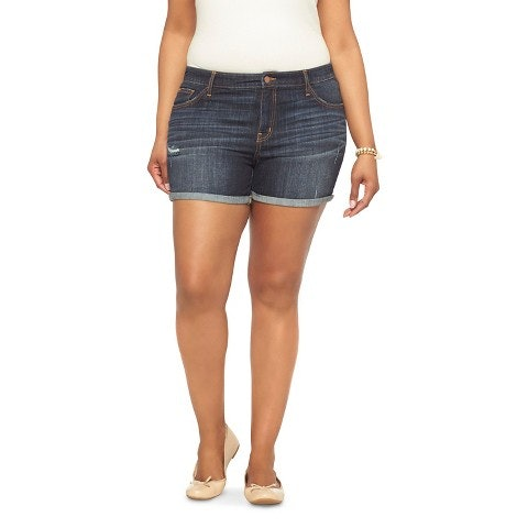 15 Plus Size Denim Shorts Under $50 That Will Have Your Thighs ...