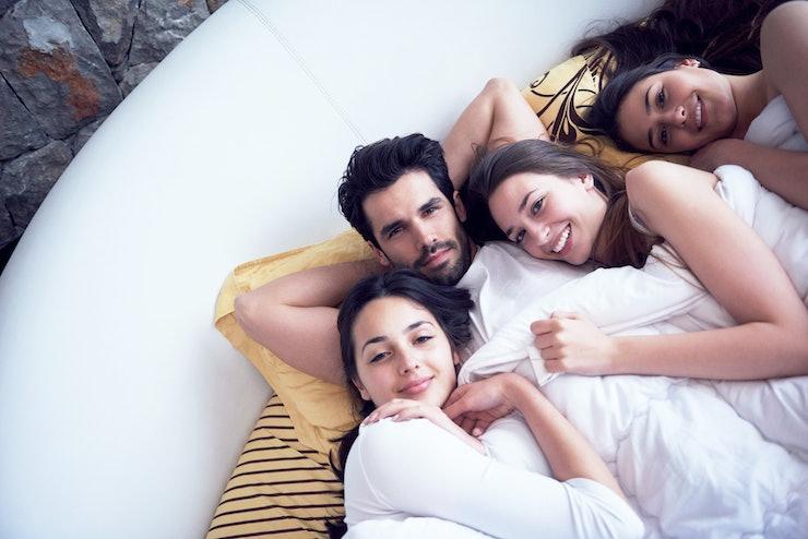 bisexual group sex stories