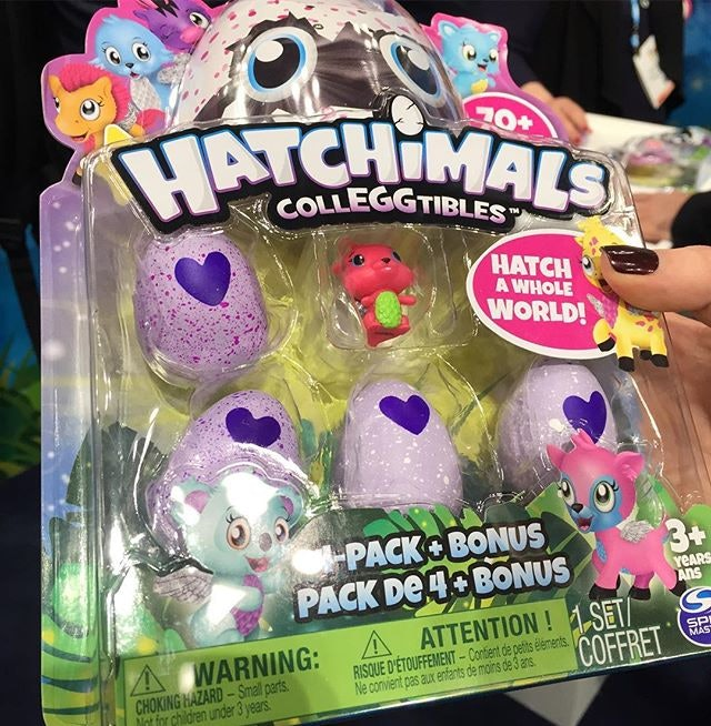 Glitter Hatchimals on the way for summer 2017