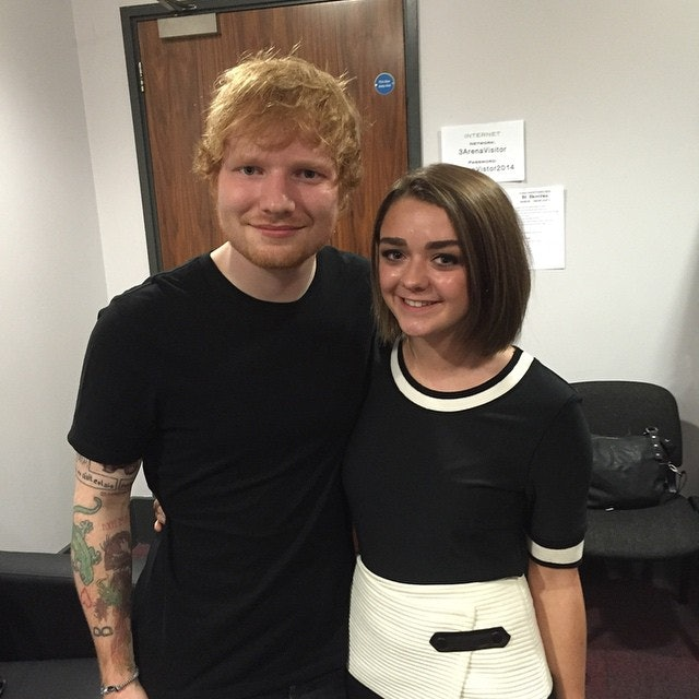 Ed Sheeran to Do Cameo as a Surprise for Maisie