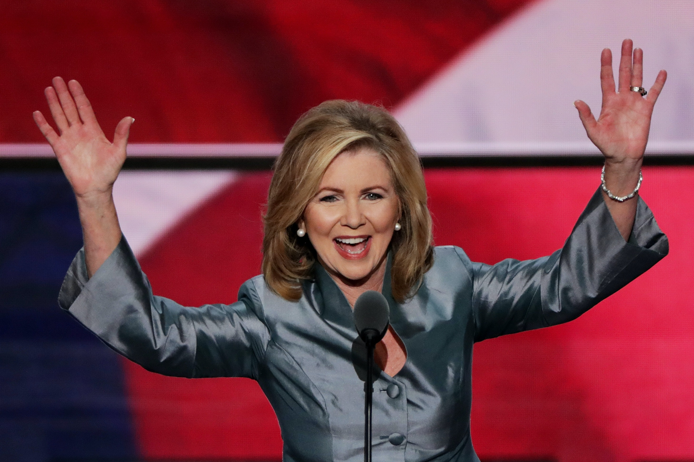 Rep. Marsha Blackburn's campaign announcement pulled from Twitter