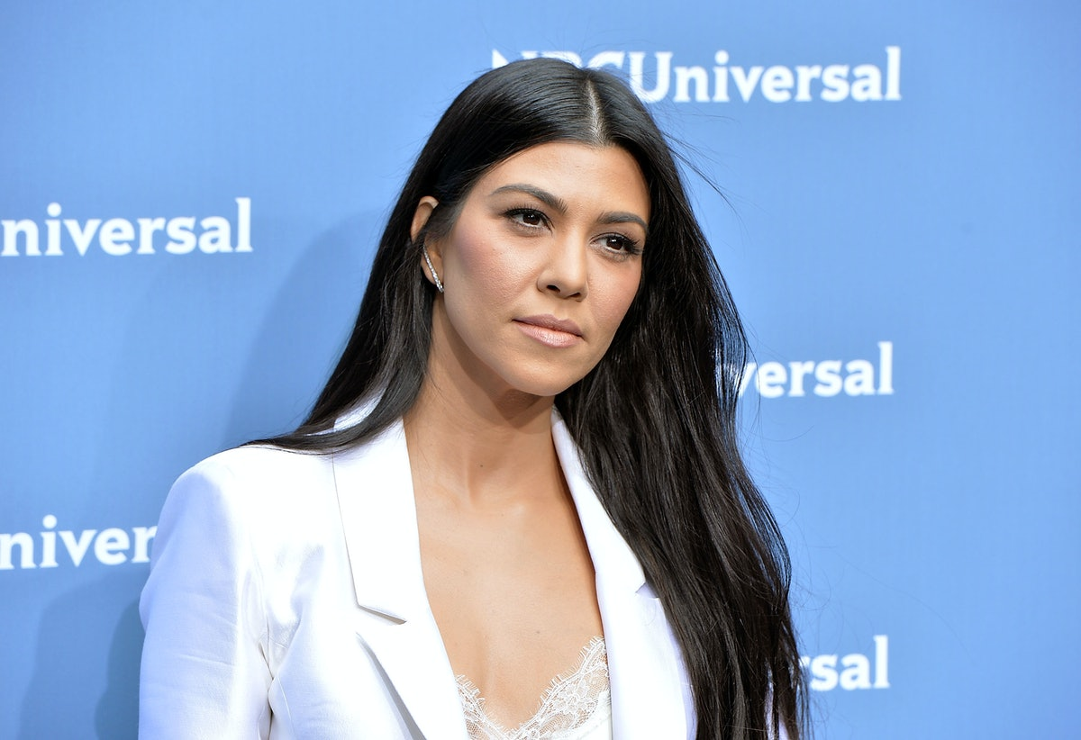 Kourtney Kardashian Responds To Pregnancy Rumors On Snapchat In The Most Casual Way