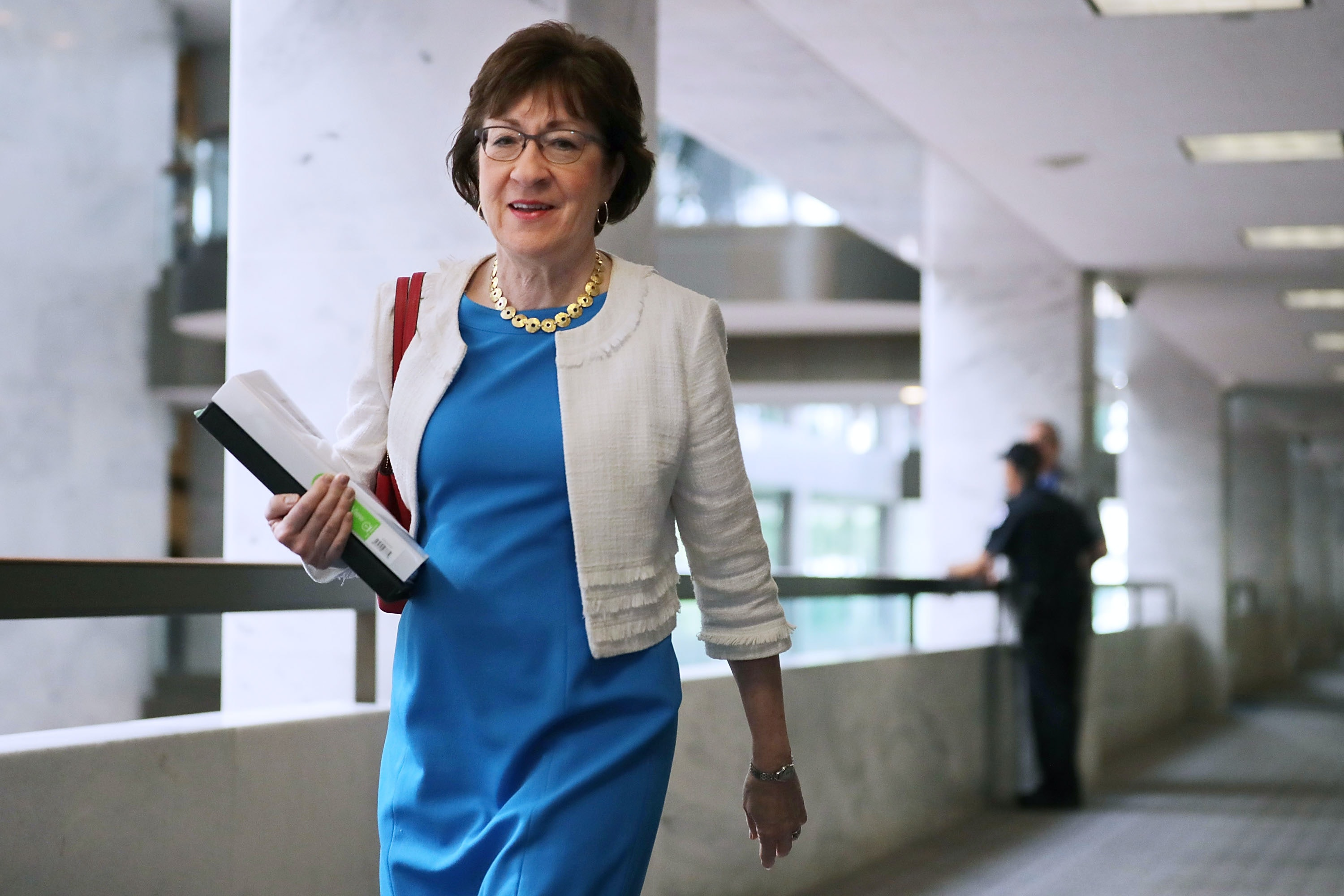 Sen. Collins Won't Run For Maine Governor